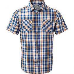 Craghoppers Men's Jamieson SS Check Shirt Deep Blue