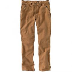 Carhartt Men's Relaxed Fit Washed Duck Work Dungaree Pant Carhartt Brown
