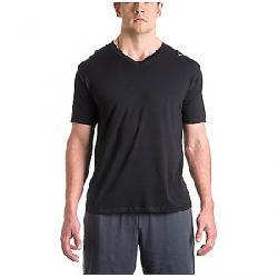 Tasc Men's Vital V Neck Shirt Black