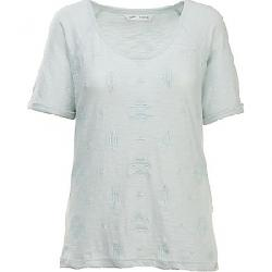 Woolrich Women's Eco Rich Bell Canyon SS Tee Aqua Ice