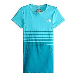 The North Face Girls' Round N Round Tee Blue Curacao