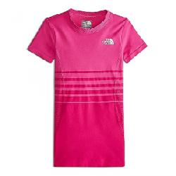 The North Face Girls' Round N Round Tee Petticoat Pink