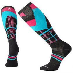 Smartwool PhD Slopestyle Light Elite Plaid Sock Black