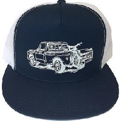 Zoic Men's Truck Hat Blue/White