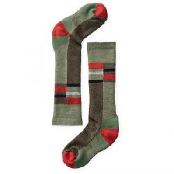 Smartwool Kids' Wintersport Stripe Sock Light Loden