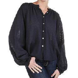 Free People Women's Down From The Clouds Top Navy