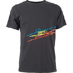 La Sportiva Men's Stripe 2.0 T-Shirt Carbon / Citronelle