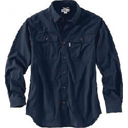 Carhartt Men's Foreman Solid Long Sleeve Work Shirt Navy