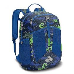 The North Face Youth Recon Squash Backpack Cosmic Blue Griddy Woodland Camo Prt / Turkish Sea