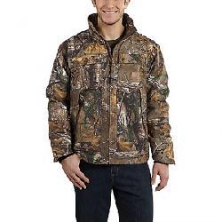 Carhartt Men's Quick Duck Camo Traditional Jacket Realtree Xtra