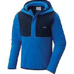 Columbia Youth Mountain Side Fleece Hoodie Super Blue / Collegiate Navy