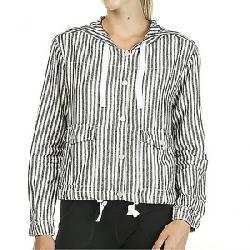 Sanctuary Women's Nova Hooded Jacket Tiki Stripe