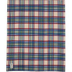 Woolrich Seven Springs Blanket Wool Cream Multi