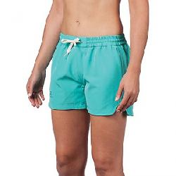 Level Six Women's Switched Reversible Short Turquoise