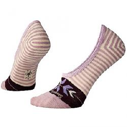 Smartwool Women's Ouray Arrow Hide and Seek No Show Sock Taupe Heather
