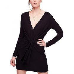 Free People Women's Ginger Cozy Dress Black