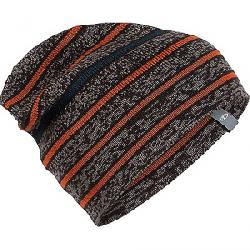 Icebreaker Atom Hat Trail Heather / Ebony / Copper