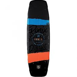 Ronix Men's District Wakeboard Matte Black/Blue/Orange