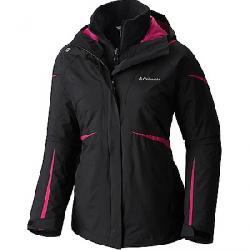 Columbia Women's Blazing Star Interchange Jacket Black / Cactus Pink