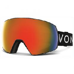 VonZipper Satellite Goggle Black Satin / Fire Chrome