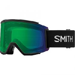 Smith Squad XL ChromaPop Snow Goggle Black / CPop Evday Green/ CPop Storm Rose Fls