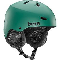 Bern Men's Macon EPS Helmet Matte Hunter Green / Black