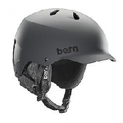 Bern Men's Watts EPS Helmet w/ 8Tracks Audio Matte Grey