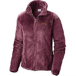 Columbia Women's Fire Side II Sherpa Full Zip Jacket Rich Wine