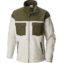Columbia Men's Steens Mountain Novelty Fleece Jacket Stone / Peatmoss