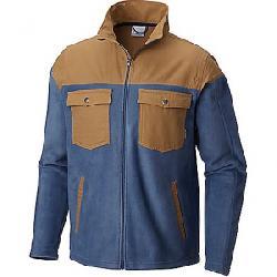 Columbia Men's Steens Mountain Novelty Fleece Jacket Dark Mountain / Delta