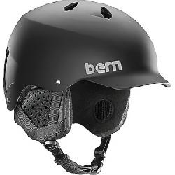 Bern Men's Watts EPS Helmet w/ Crank-Fit Matte Black