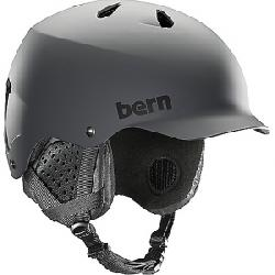 Bern Men's Watts EPS Helmet w/ Crank-Fit Matte Grey