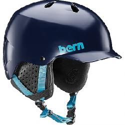 Bern Men's Watts EPS Helmet w/ Crank-Fit Matte Navy Blue