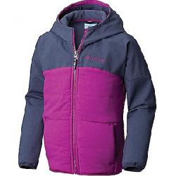 Columbia Youth Girls Take A Hike Softshell Jacket Nocturnal Hthr / Bright Plum