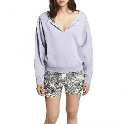 Sanctuary Women's Breslin Split Neck Sweatshirt Orchid
