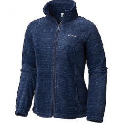 Columbia Women's Benton Springs Printed Full Zip Jacket Nocturnal Texture
