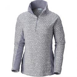 Columbia Women's Glacial IV Printed 1/2 Zip Top Astral Tweed