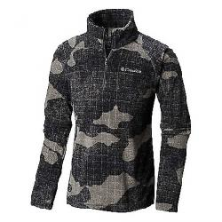Columbia Youth Boys Glacial III Fleece Printed Half Zip Top Grill Camo Twill