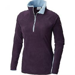Columbia Women's Glacial IV 1/2 Zip Top Dark Plum / Dark Mirage