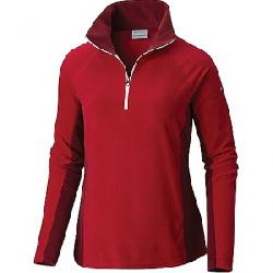 Columbia Women's Glacial IV 1/2 Zip Top Pomegranate / Rich Wine