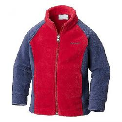 Columbia Youth Girls' Benton Springs II Printed Fleece Jacket Pomegranate / Nocturnal