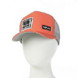 Mountain Steals Big Foam Trucker Hat by BigTruck Salmon / Grey