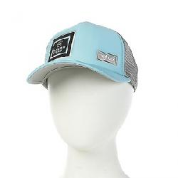 Mountain Steals Big Foam Trucker Hat by BigTruck Aqua / Grey