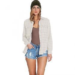 Billabong Women's Venture Out Long Sleeve Shirt White Cap