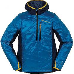 Big Agnes Men's Porcupine Hooded Pullover Jacket Blue / Navy