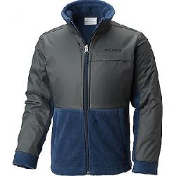 Columbia Youth Boys' Steens MT Overlay Jacket Collegiate Navy / Grill