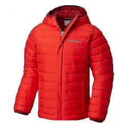 Columbia Youth Boys' Powder Lite Puffer Jacket Red Spark