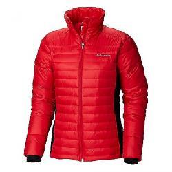 Columbia Women's Powder Pillow Hybrid Jacket Red Mercury / Black
