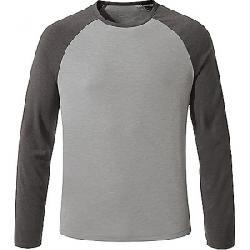Craghoppers Men's First Layer LS T-Shirt Quarry Grey Marl / Black Pepper Marl