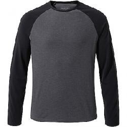 Craghoppers Men's First Layer LS T-Shirt Ombre Blue Marl / Dark Navy